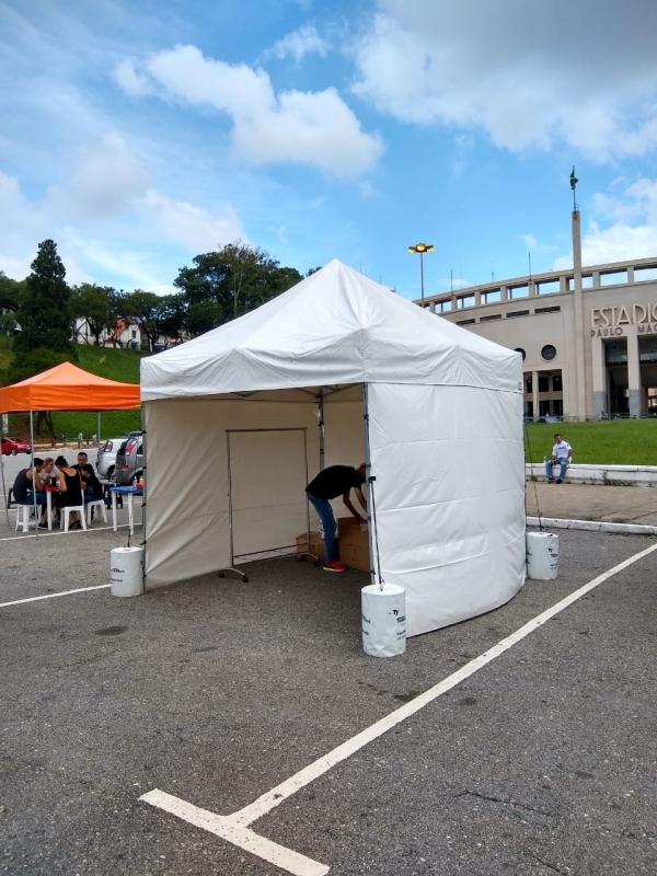 Tenda Sanfonada 3x3 Ferro