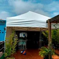 Locação de tendas