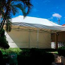 Tendas sanfonadas aluguel