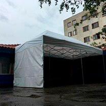 Tendas sanfonadas aluguel em São Paulo