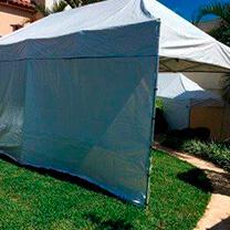 Tendas sanfonadas para alugar